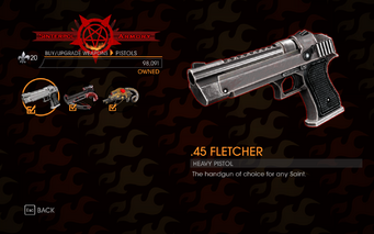 Gat out of Hell - Heavy Pistol