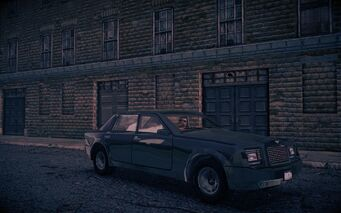 Justice - front right in shadow in Saints Row IV
