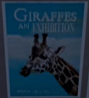 Stilwater Science Center Giraffe poster