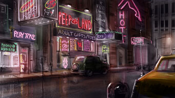 Red Light District Concept Art