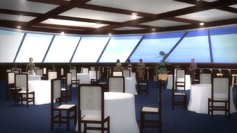 Executive Yacht - dining room - right