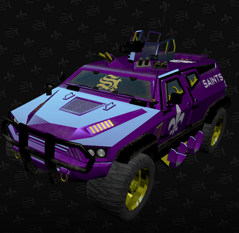 Saints N-Forcer in the Saints Row The Third Garage
