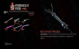 Weapon - Melee - Rectifier Probe - Main