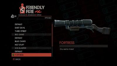 Weapon - Shotguns - Semi-Auto Shotgun - Ion Blaster - Fortress