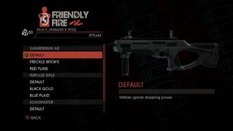 Weapon - Rifles - Burst Rifle - Guardsman AR - Default