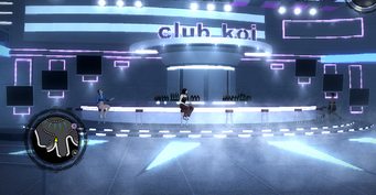 Club Koi - interior bar area