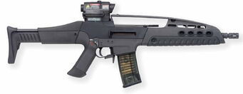 AR-50 XMAC - XM8 in real life