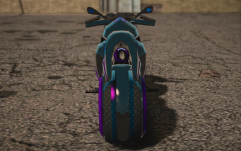 Saints Row IV variants - X-2 Phantom Average - rear