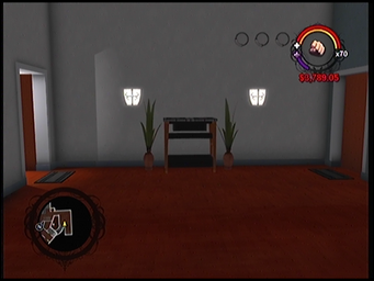 The hallway outside of Anthony's condo in Saints Row