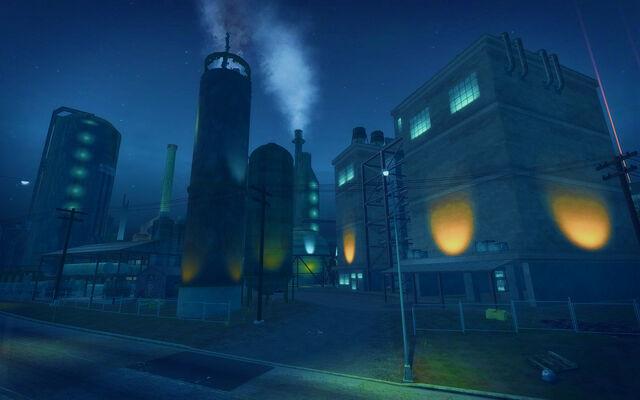 File:Pilsen in Saints Row 2 - refinery at night.jpg
