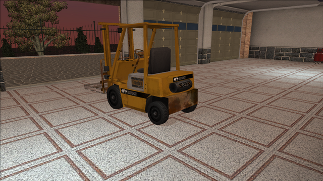 File:Saints Row variants - Forklift - industrial with pallet - rear left.png