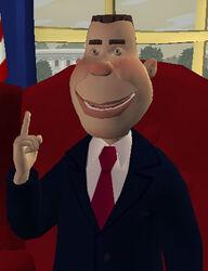 Puppet president