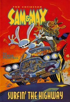Sam & Max - Surfin The Highway (front cover)