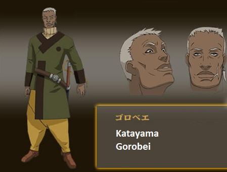 katayama gorobei samurai 7 wiki fandom powered by wikia