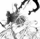 Yukimura defeats Chinmei