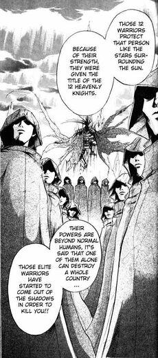 12 Heavenly Knights