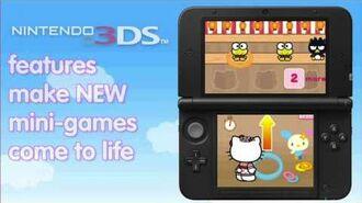 Around the World with Hello Kitty - Trailer (Nintendo 3DS)