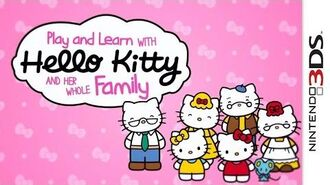 Hello Kitty- Happy Happy Family - Trailer 3DS