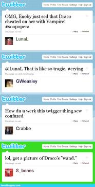 My immortal fake tweets