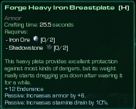 Heavy Iron Breastplate