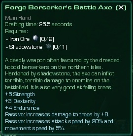 Berserker's Battle Axe
