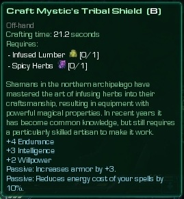 Mystic's Tribal Shield