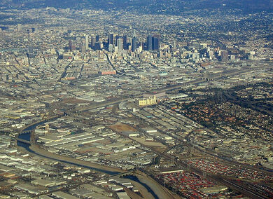 Los Angeles - a river runs through it.