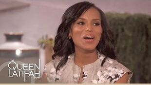 Kerry Washington Talks 'Scandal' on The Queen Latifah Show