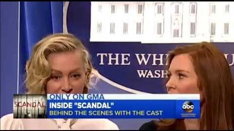 Scandal Abc behind the scenes on GMA (Season 5)