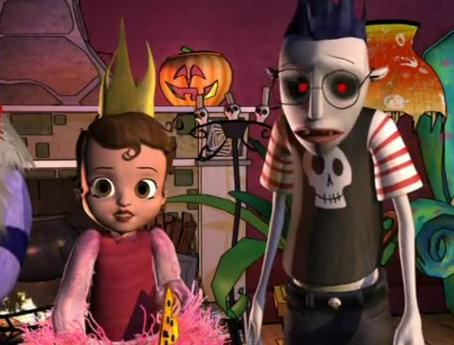 Image - Ruby, orson, and Hannah.jpg - Scary Godmother Wiki   Scary Godmother Orson