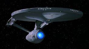 USS Enterprise-A quarter