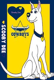 NRL Grand Final Scooby Dee North Queensland Cowboys