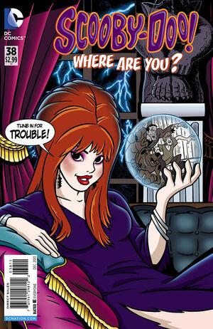 WAY 38 (DC Comics) front cover