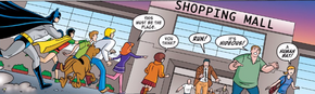 Shopping mall (Man Bat and Robbin')
