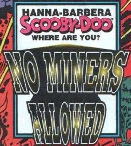 No Miners Allowed title card
