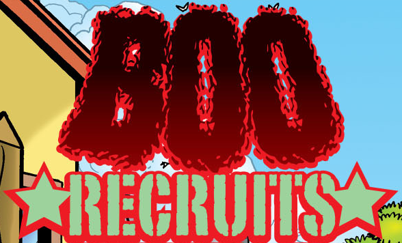 Boo Recruits title card