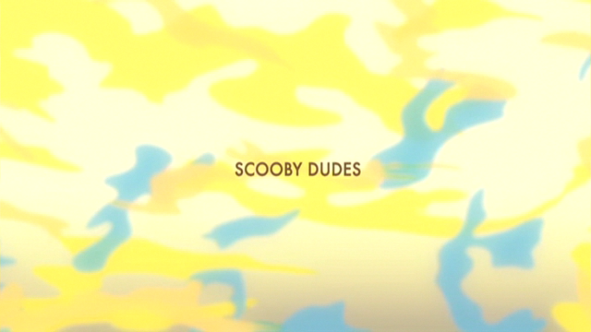 Scooby Dudes title card