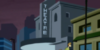 Movie theater (It's Mean, It's Green, It's the Mystery Machine)