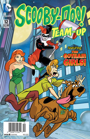 TU 12 (DC Comics) cover