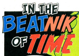 In the Beatnik of Time title card