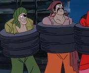 Ghost of Redbeard's crew captured (Go Away Ghost Ship)
