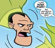 Noah Stark unmasked