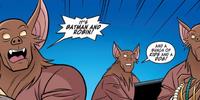 Bat-robbers (Man Bat and Robbin')