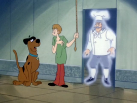 Shag and Scoob meet the Ghost of Chef Maras