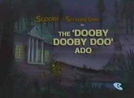The 'Dooby Dooby Doo' Ado card