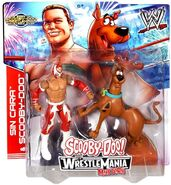 Sin Cara and Scooby Mattel toys