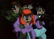 Werewolf town