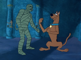 Scooby vs. the Mummy of Ankha