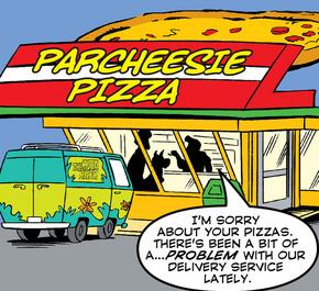 Parcheesie Pizza