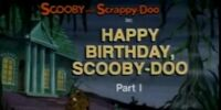 Happy Birthday, Scooby-Doo